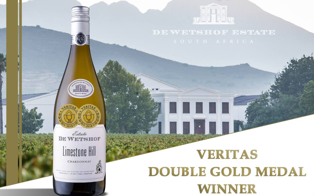 De Wetshof Limestone Hill takes only Veritas Double Gold