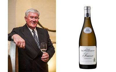 De Wetshof Stalwart Finesse Chardonnay Achieves Top 100 Status and Double Platinum